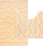 """Комплект ковриков для ванной Fresh Code """"Зигзаг"""", цвет:..."""