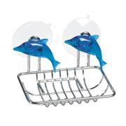 "Мыльница Tatkraft ""Dolphin Blue"", 12,5 х 9 х 10 см"