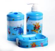 """Набор для ванной комнаты Disney """"Винни и его друзья"""", цвет: голубой, 3..."""