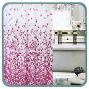 """Штора для ванной Fresh Code """"Розовый треугольник"""", цвет: белый,..."""