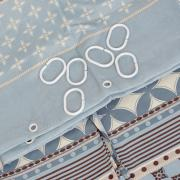 """Штора для ванной Fresh Code """"Голубой орнамент"""", цвет: голубой,..."""