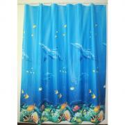 "Штора для ванной комнаты Milardo ""Ocean Floor"", 180 см х 180 см...."