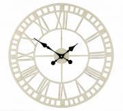 """Часы настенные Gardman """"Claremont"""", цвет: белый, диаметр 59 см. 17187"""