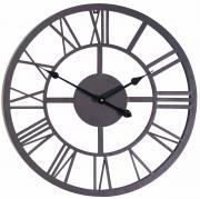 """Часы настенные Gardman """"Римские"""", цвет: черный, диаметр 56 см. 17176"""