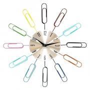 Часы настенные Часы - Скрепки Эврика CBS001-003A34