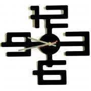W-era Часы настенные Перекресток времен пластиковые 36х32 см