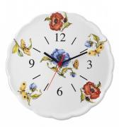 Часы керамические 30cm «Ботанический сад» (Nuova Cer)