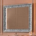 Зеркало Kerasan Retro 100x100 серебро (736402)