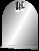 Зеркало для ванной Dubiel Vitrum PR 500x650 Хром