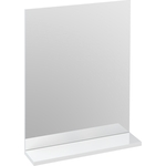 Зеркало Cersanit Melar/Arteca 50х64.8х12 см с полочкой без подсветки...