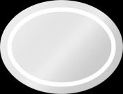 Зеркало для ванной Dubiel Vitrum Dione 850x650 Хром