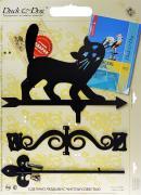 "Флюгер малый Duck & Dog ""Кот"", 35 см х 71 см"