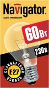 Лампа накаливания Navigator NI-A
