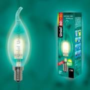 Лампа UNIEL HCL-60/CL/E14 flame