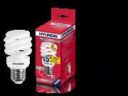 Лампа люминесцентная HYUNDAI fs/2/08-15w-827-e27 промо t2