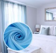 """Вуаль Amore Mio """"Однотонная"""", 300x270 см, 1 шт, цвет: голубой. 74652"""