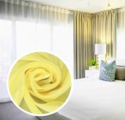 """Вуаль Amore Mio """"Однотонная"""", 300x270 см, цвет: желтый. 75384"""