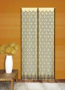 """Гардина-панно Wisan """"Mozaika"""", на кулиске, цвет: желтый, высота 240 см"""