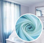 """Вуаль Amore Mio """"Однотонная"""", 200x270 см, цвет: голубой. 74705"""