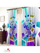 Комплект штор, 1,50 х 2,70 (2 шт) ТамиТекс, цвет мультиколор