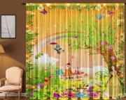 Фототюль для детской Новый стиль T0370 Сказка 145x270