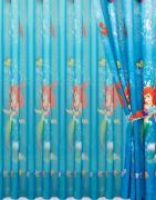 """Комплект штор Mona Liza """"Русалочка"""", цвет: синий, высота 265 см"""