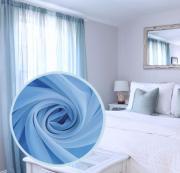 """Вуаль Amore Mio """"Однотонная"""", 300x270 см, цвет: голубой. 75386"""