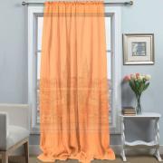 """Вуаль плиссе Amore Mio """"Однотонная"""", 200x270 см, цвет: персиковый...."""