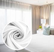 """Вуаль Amore Mio """"Однотонная"""", 300x270 см, 1 шт, цвет: белый. 74651"""
