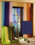 "Гардина-тюль ""Wisan"", цвет: темно-синий, ширина 150 см, высота 250 см"