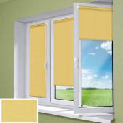 """Миниролло """"KauffOrt"""", цвет: темно-желтый, 52 х 170 см"""