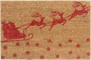 "Коврик придверный Gardman ""Santa Sleigh"", 40 х 60 см"