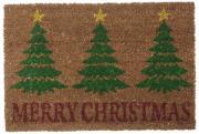 """Коврик придверный Gardman """"Merry Christmas"""", 40 см х 60 см"""