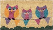 """Коврик придверный Gardman """"Sleepy Owls"""", 40 см х 70 см"""