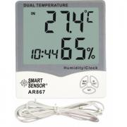 Метео-станция с термометром и измерителем влажности Smart Sensor AR867