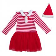 PlayToday Костюм карнавальный для девочек цвет белый красный размер 80...