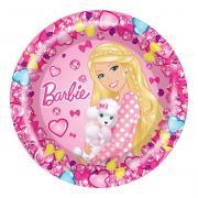 Barbie Тарелка Барби 6 шт