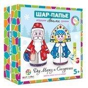 Набор Дед Мороз и Снегурочка Шар-папье B1056765