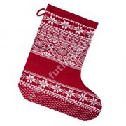 Новогодний носок для подарков Скандик, красный