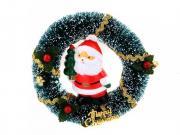 Новогодний сувенир Венок новогодний с Сантой Coolcox CC-312S USB 7цв....