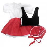Карнавальный костюм для девочки Вестифика Красная Шапочка, цвет:...
