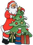 """Наклейка на окно Erich Krause """"Счастливого рождества"""", 30 х 21,5 см"""