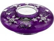 Новогодние подарки Dreamlight Подсвечник Снежинки Traum-70573...
