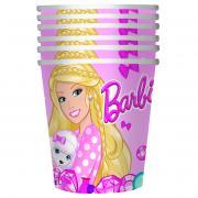 Barbie Сервировка праздничного стола детям Стакан Барби 6 шт
