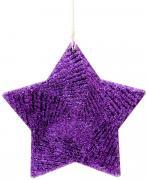 """Новогоднее подвесное елочное украшение Magic Time """"Фиолетовая звезда"""",..."""