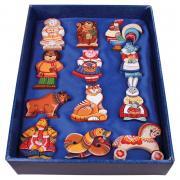 """Подарочные наборы Сладкие подарки Набор ёлочных игрушек """"Символы года"""""""