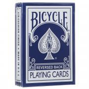 """Карты игральные Bicycle """"Reversed Back"""", цвет: синий"""