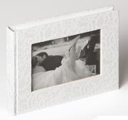 FA-137 Свадебный классический фотоальбом WALTHER 22x16/40 белые. стр....