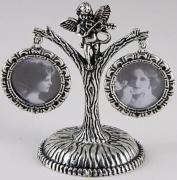 Adyr AD-600-P-1-PR Фоторамка семейное дерево с ангелочком, на 2 фото...