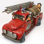 Статуэтка Gillermo Forchino Пожарная Машина 50%